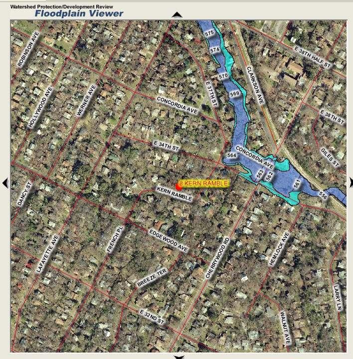 8 Kern Ramble floodplain map