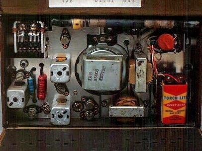 Eico Radio Kit Insides